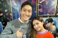 8 Momen seru Raffi dan Nagita Slavina ketemu Choi Siwon