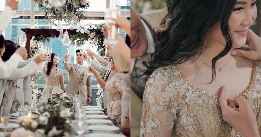 5 Potret pertunangan Boy William & Karen Vendela, romantis
