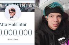 Dapat 20 juta subscribers, Atta Halilintar bikin rekor Asia Pasifik