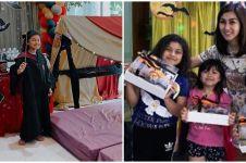 8 Momen ulang tahun anak Nisya Ahmad, bertema Harry Potter