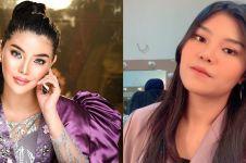 5 Momen ultah Rosa Meldianti ke-21, bajunya jadi sorotan