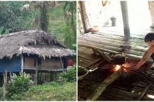 Hidup sebatang kara, bocah 10 tahun bertahan hidup di hutan