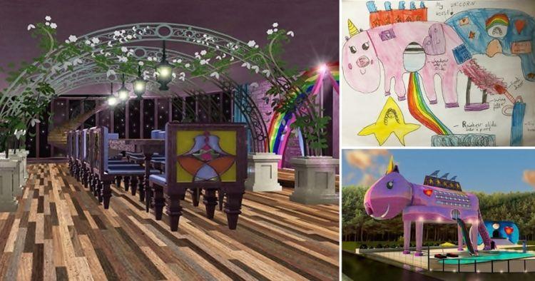 8 Desain unik bangunan ini terinspirasi dari gambar anak-anak