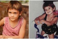 Potret masa kecil 10 presenter kondang Tanah Air, bikin gemes