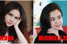 5 Bukti Michelle Ziudith & Maizura mirip, bak duplikat