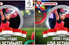 Lisa Setiawati menangis raih perak SEA Games 2019, ini alasannya