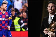 Raih gelar Ballon d'Or 2019, Messi kalahkan Van Dijk dan Ronaldo