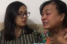 Reaksi ibu Paula lihat Baim Wong ke rumah mantan, nangis