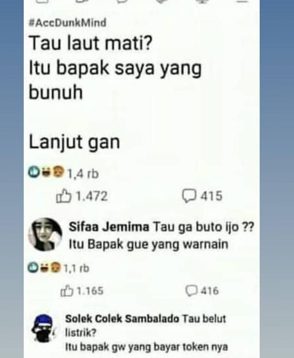 tanya jawab di grup Facebook lucu © 2019 instagram.com