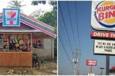 10 Pelesetan nama tempat usaha ini bikin pembeli tepuk jidat