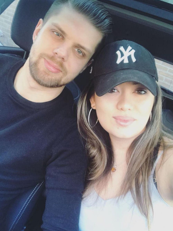 potret amanda gonzales dan pacar  Instagram
