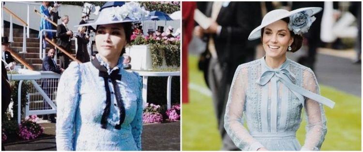 Momen 5 seleb pakai busana mirip Kate Middleton, memesona