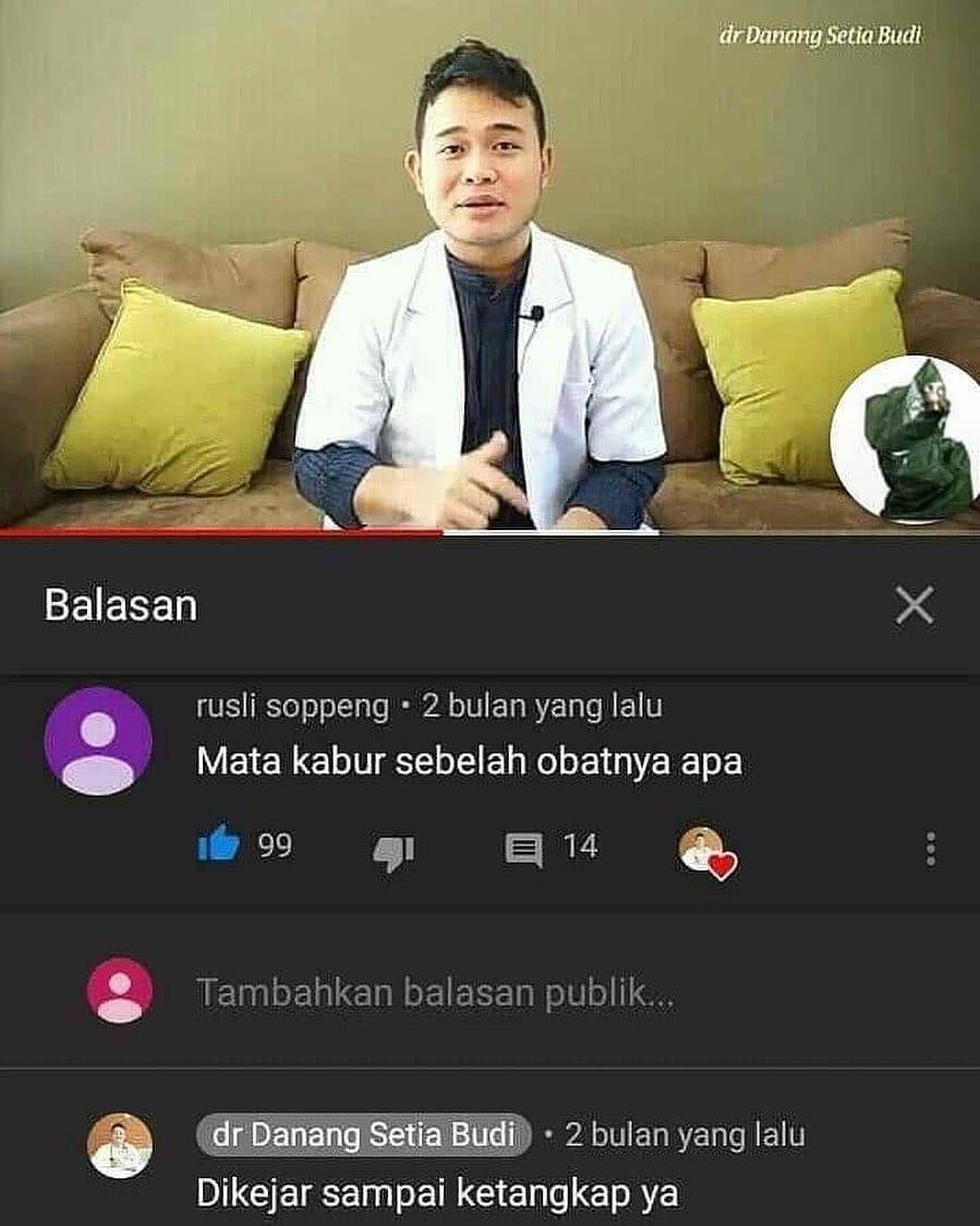 chat lucu tanya dokter jawab pasien © berbagai sumber