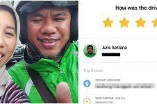 Curhat haru penumpang ojek online dapat driver disabilitas