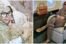 Tak kalah cetar, ini 6 gaya glamor Wati Nurhayati ibunda Syahrini
