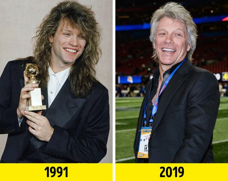 Beda penampilan 10 penyanyi Hollywood era 90-an dulu vs kini brightside.me