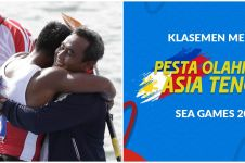Perolehan medali SEA Games 2019, peringkat Indonesia naik