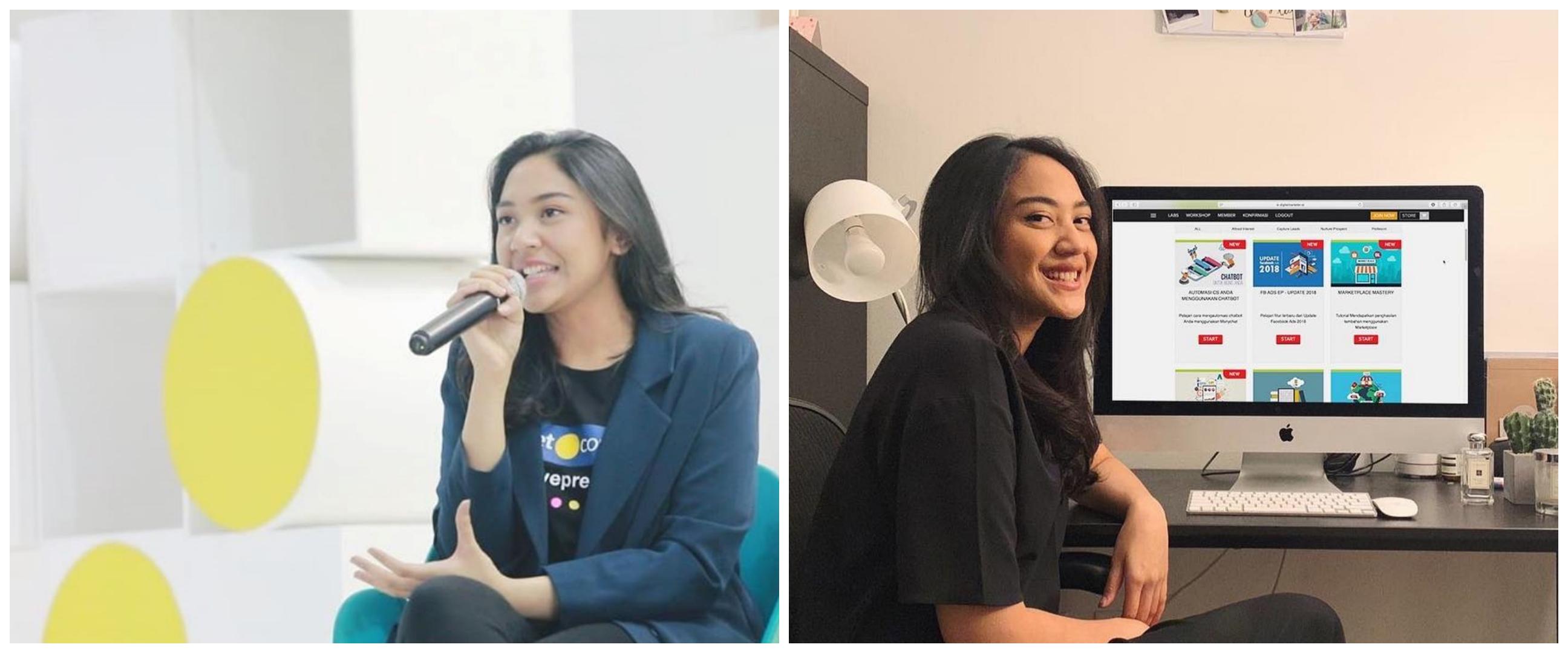 Kiat sukses jadi seorang creativepreneur ala Putri Tanjung