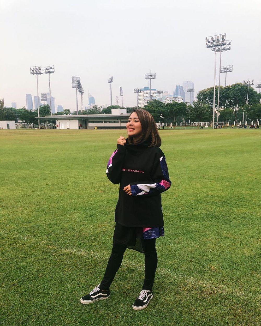 8 Pesona Nabila Faisal, calon istri Marcell Darwin yang cantik Instagram/@fastynabila