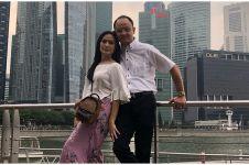 Jawaban Iis Dahlia soal suaminya yang bawa Harley Ari Askhara