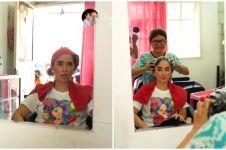 11 Momen Ussy Sulistiawaty perawatan di salon kampung, tuai pujian