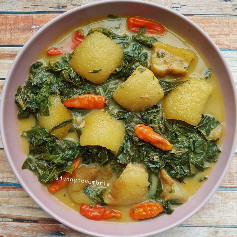 Resep masakan sehari-hari olahan daun singkong Instagram
