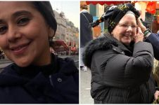 6 Momen Ayu Azhari promosi kain tenun NTT di London, laku keras