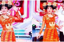 6 Foto Rosalina Musa 'Kak Rose' pakai baju adat Karo di DA Asia 5