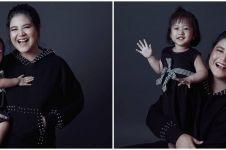 Beda gaya pemotretan 4 cucu presiden, Sedah Mirah curi perhatian