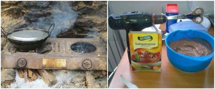 10 Life hack perabot dapur ala orang Indonesia ini menipu mata