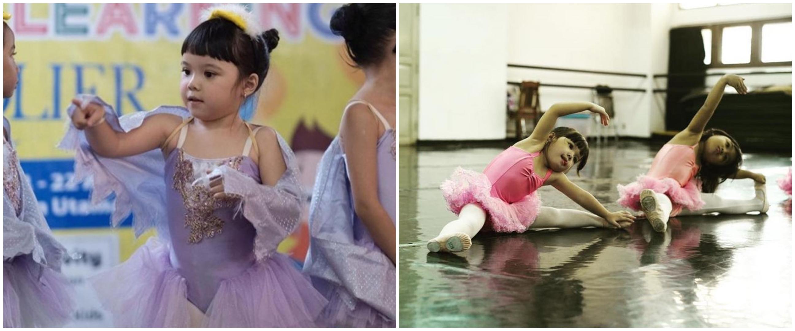 6 Potret anak seleb jadi balerina cilik, aksinya menggemaskan