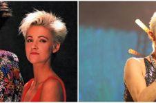 6 Fakta Marie Fredriksson vokalis Roxette, divonis tumor otak