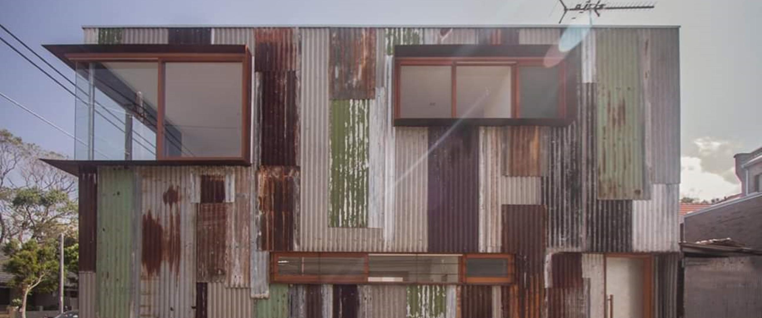 Luarnya dibuat dari seng karatan, 6 foto isi rumah bikin kaget