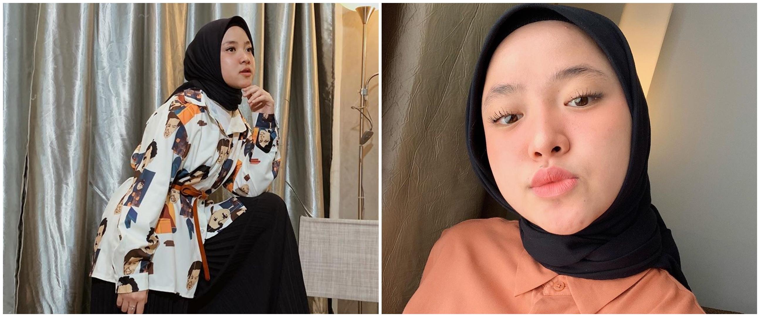 8 Gaya keseharian Nissa Sabyan, jauh dari kesan modis