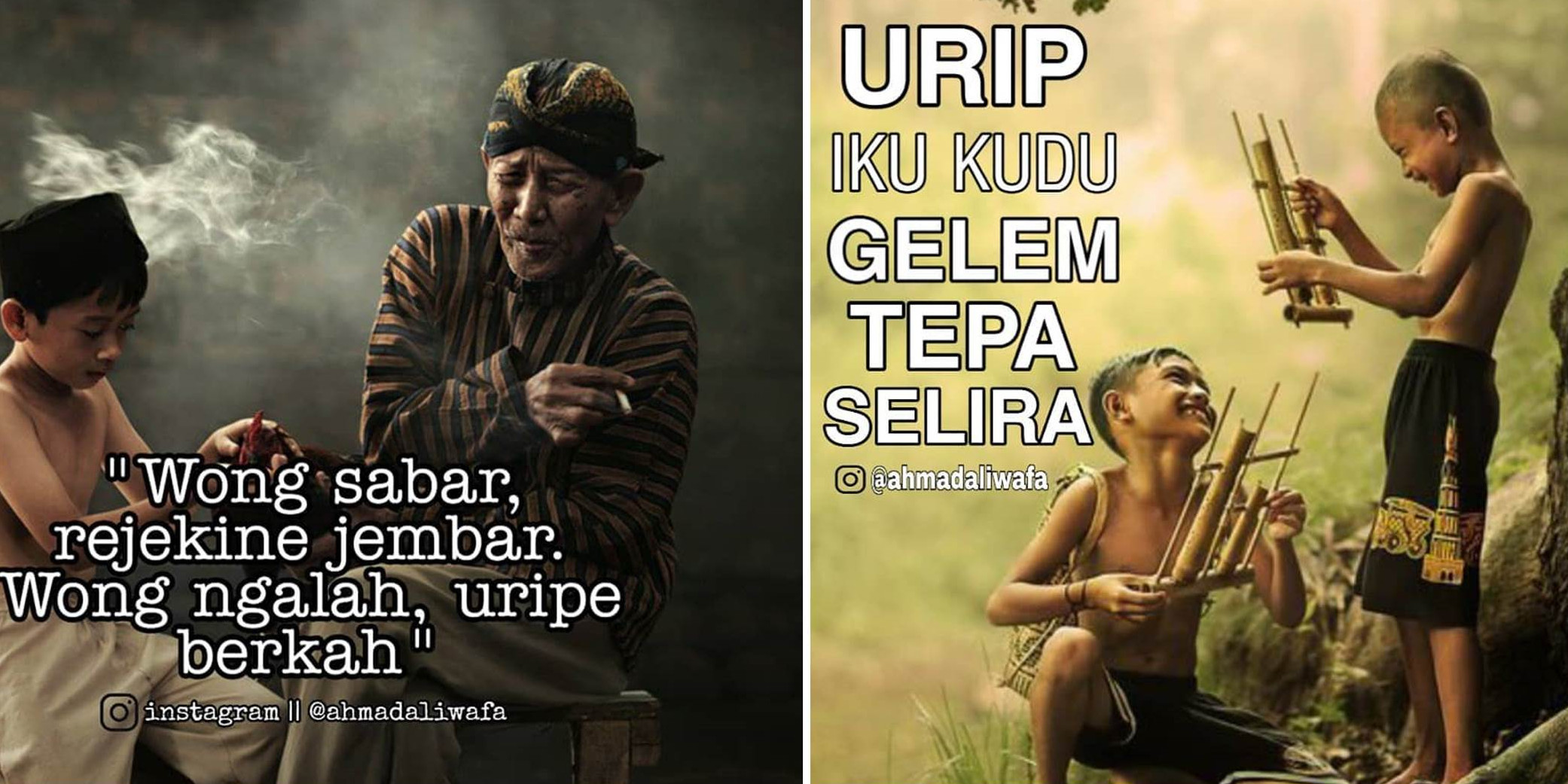 40 Caption Instagram Bahasa Jawa Paling Keren Dan Penuh Arti