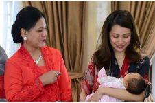 5 Momen Gista Putri dijenguk Iriana Jokowi, gayanya panen pujian