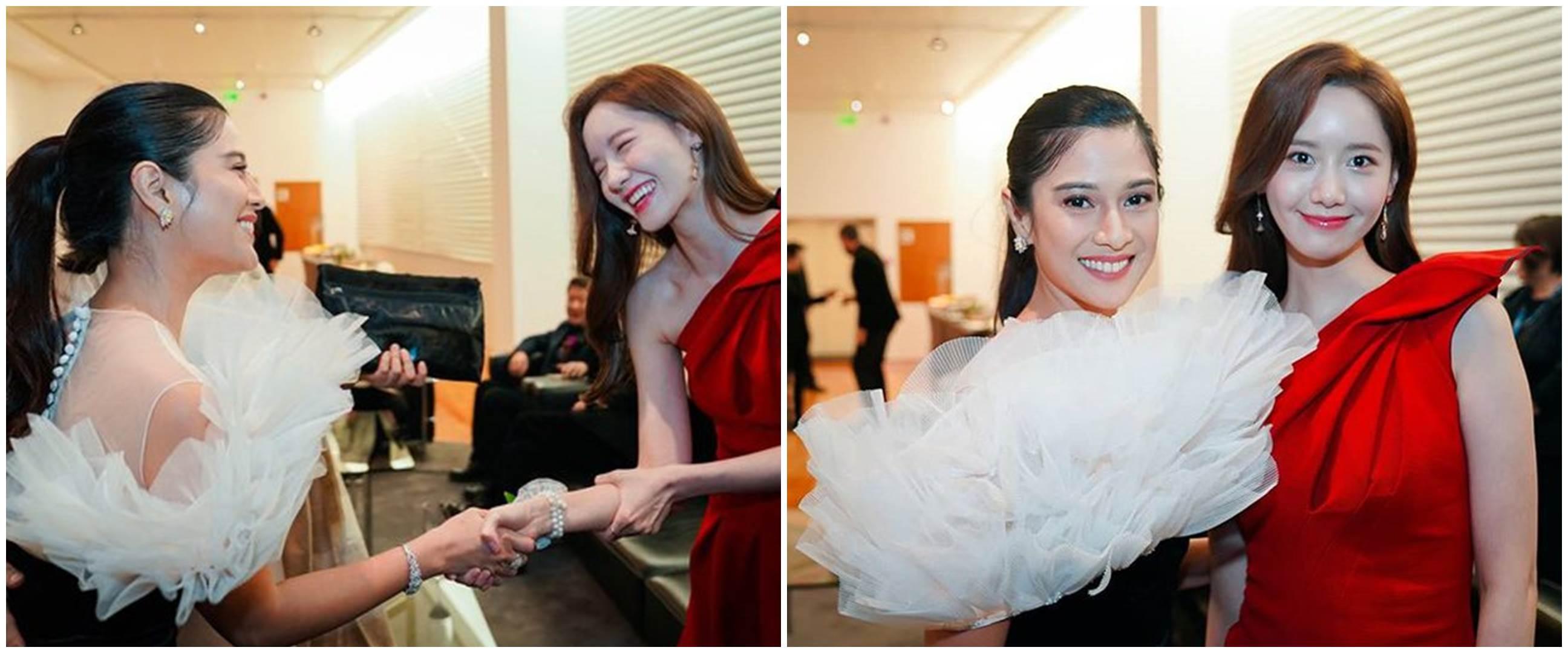 9 Momen Dian Sastro ketemu Yoona, sama cantik & memesona