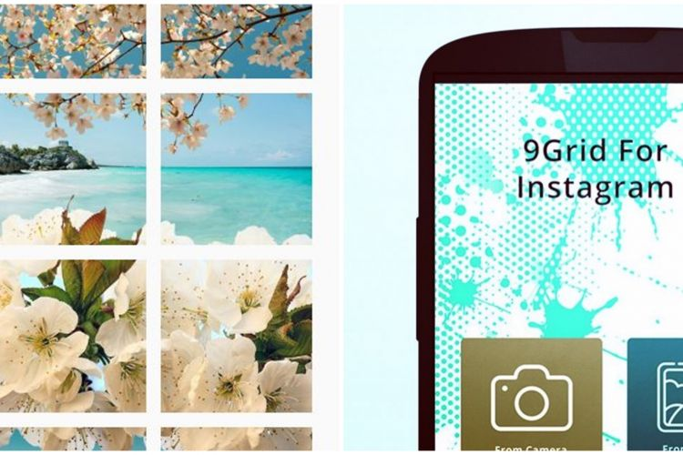 7 Aplikasi Gratis Bikin Feed Instagram Nyambung Mudah Dipakai