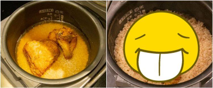 Viral resep nasi dimasak bareng ayam KFC, hasilnya bikin ngiler