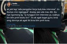 Kisah haru driver ojek online tunggui penumpangnya interview kerja