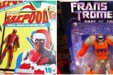 Pelesetan nama superhero di 10 mainan ini bikin tepuk jidat