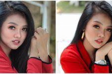8 Pesona Olivia Noor, pedangdut dibully karena ayahnya tukang buah