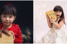 6 Foto pemotretan Gempi bertema Natal, bikin gemas maksimal