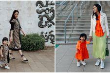 9 Inspirasi baju kembaran Aliya Rajasa & Baby Gaia, stylish