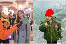 8 Aksi lucu Rafathar di luar negeri, gemesin banget