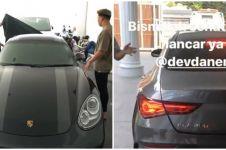 5 Mobil mewah koleksi Iis Dahlia & suami, ada Jeep & Porsche
