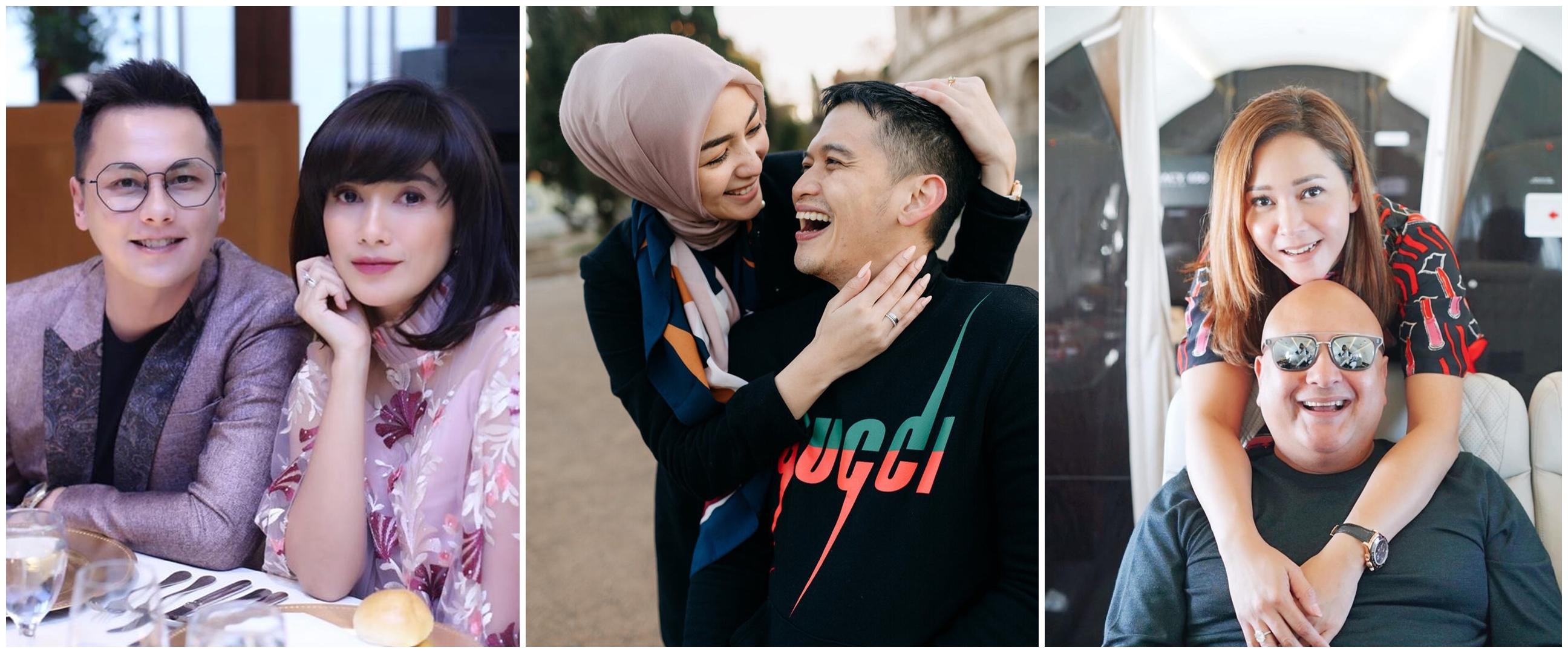 Cara unik 8 seleb ekspresikan romantis untuk pasangannya