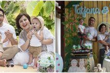 Inspirasi pesta ultah tema kebun binatang ala 8 anak seleb