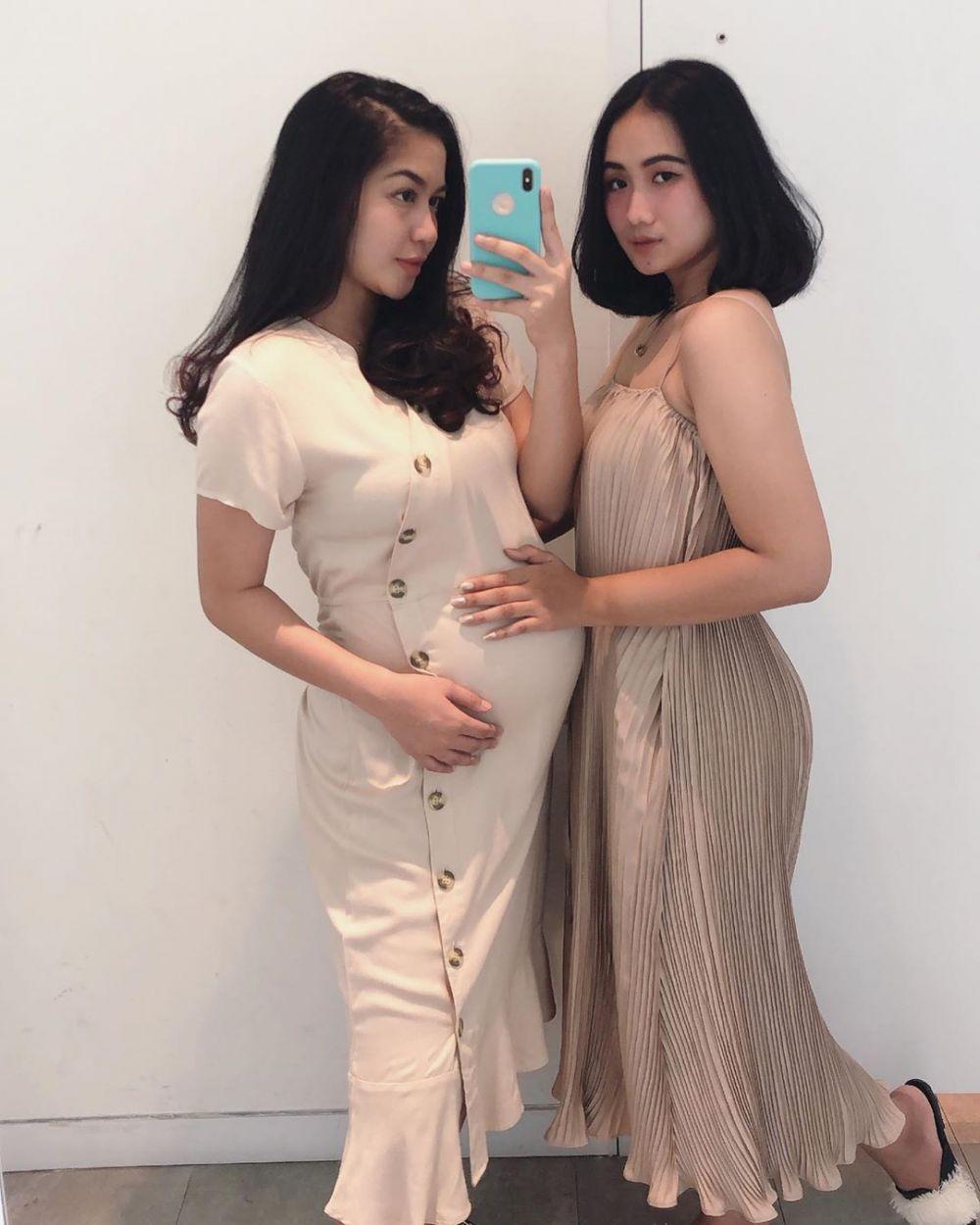 Gaya Eriska baby bump  Instagram