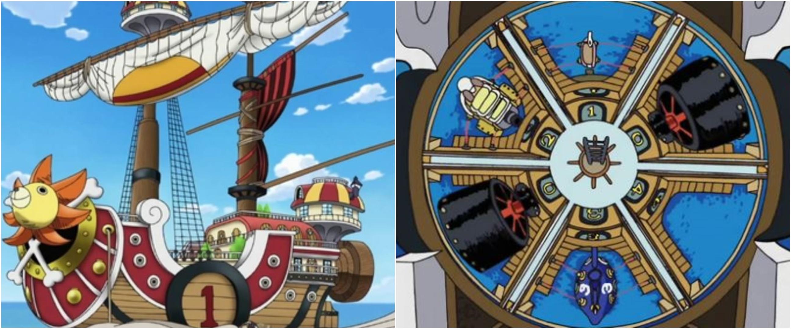 6 Fakta unik kapal Thousand Sunny-go di anime One Piece